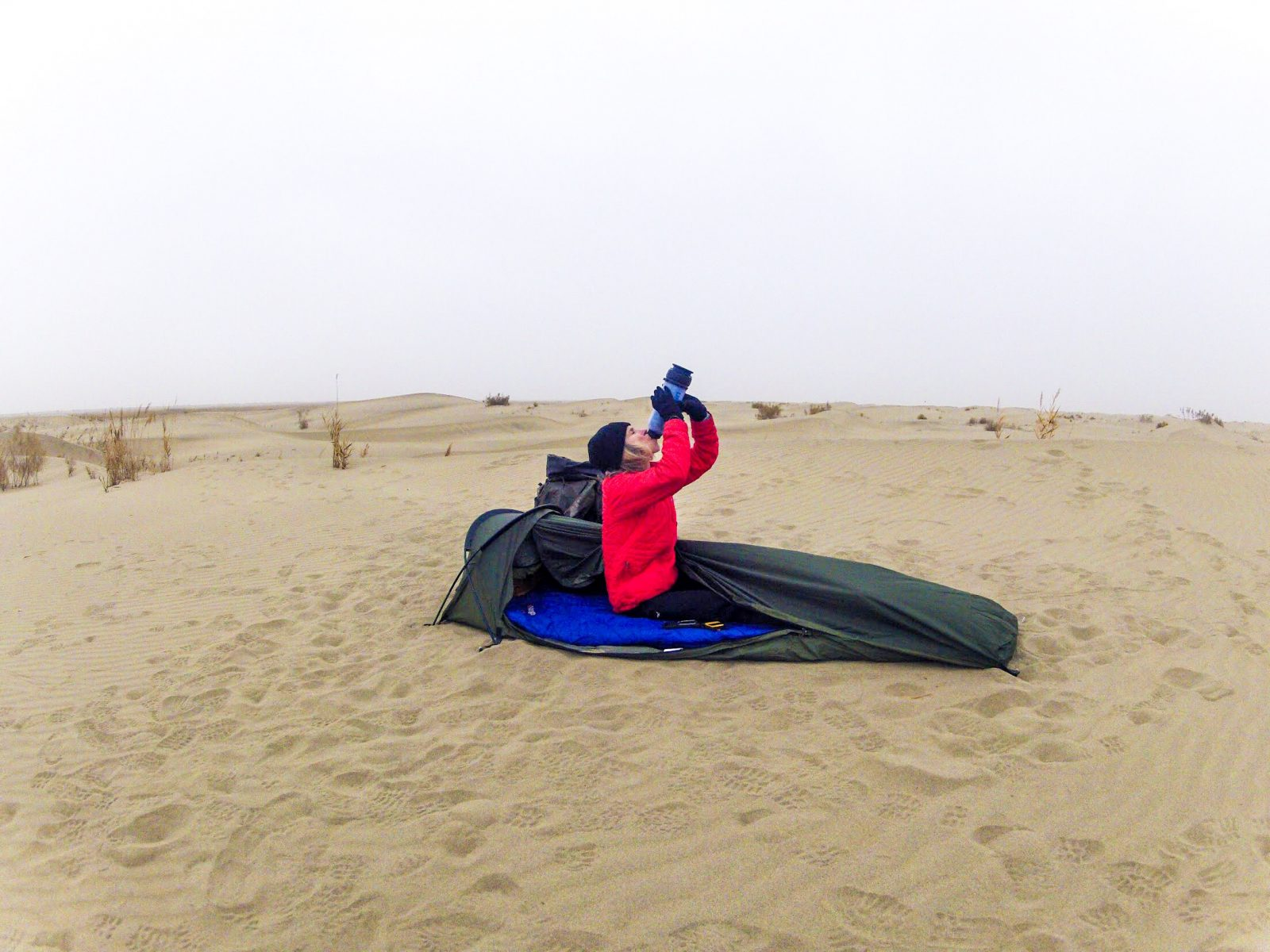LifeSaver Sponsor Rosie Stancer Expedition Across the Taklamakan Desert