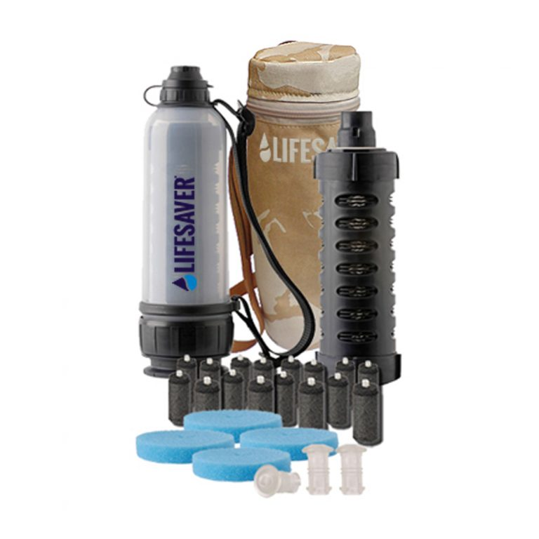 Water filter pack