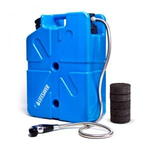 Jerrycan water purification pack