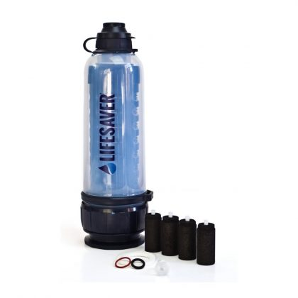 Solo emergency preparedness water purification pack