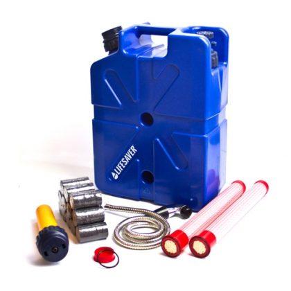 Ultimate emergency preparedness water purification pack