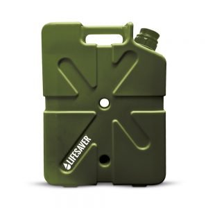 LifeSaver water purification Jerrycan 20000 Green