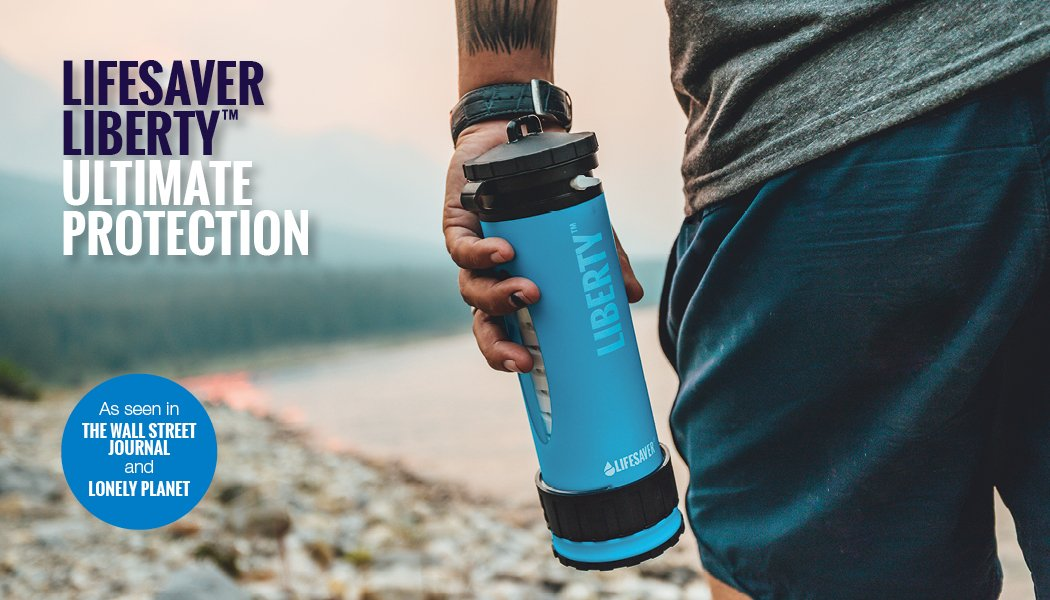 LifeSaver liberty bottle water purifier