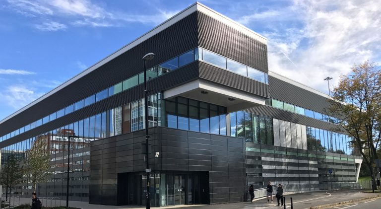 Opened in 2018, the £60m Graphene Engineering Innovation Centre (GEIC) will be an international research and technology facility.