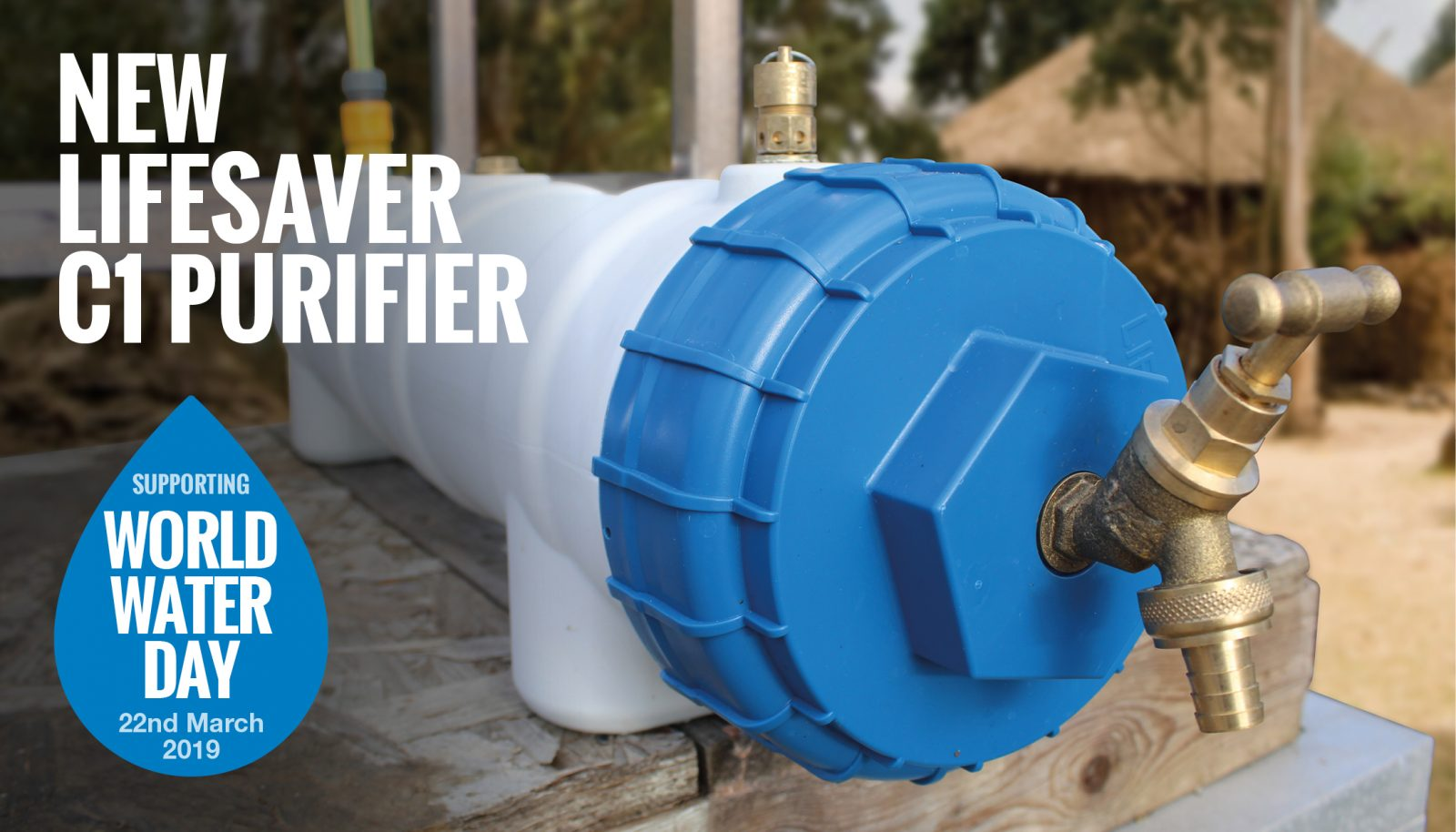 We're excited to announce the launch of the LifeSaver C1, our brand new water purifier for large scale water purification
